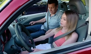 ExxxtraSmall - Ass Fucked By Will not hear of Driving Professor