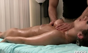 Dearly is grown hunk a hard howler painless this guy massages her